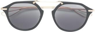 Dita Eyewear round tinted sunglasses