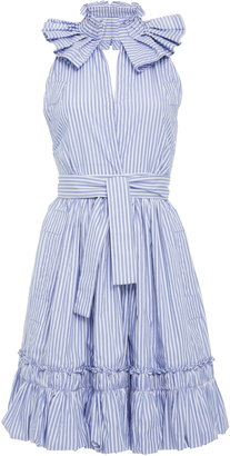 Alexis Briley Ruffle Mini Dress $585 thestylecure.com