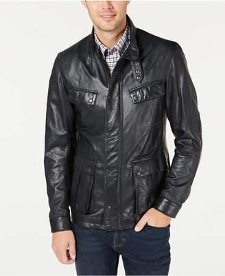 Barbour International Steve McQueen Men Sendle Leather Jacket