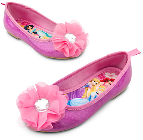 Disney Princess Flat Shoes for Girls
