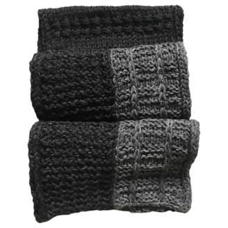 Dolce & Gabbana Wool scarf & pocket square