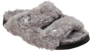 Dearfoams Double Strap Slip-On Slippers