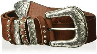 Nocona Belt Company Belt Co. Women's Multi Keeper Buckle Set Belt