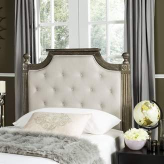 Safavieh Rustic Wood Tufted Headboard, Available in Multiple Colors and Sizes