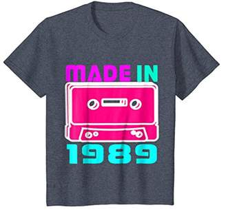 I Love 80s Tees Made In 1989 Retro Vintage Neon T Shirt