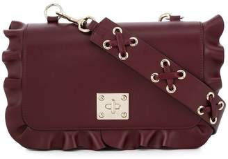 RED Valentino RED(V) frilled crossbody bag