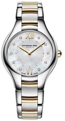 Raymond Weil Noemia Diamond Bracelet Watch, 32mm
