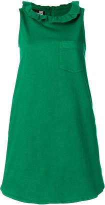 Love Moschino frill collar shift dress