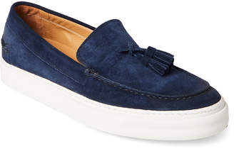 Marc Jacobs Navy Tasseled Loafer Sneakers