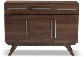 Asstd National Brand Baxton Studio Ashfield 3-Drawer Sideboard
