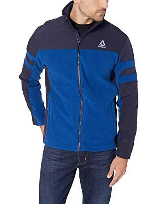 Reebok Men's Sweater Fleece Active Jacket