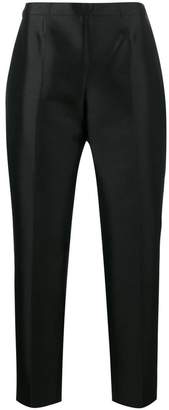 Prada high waisted cigarette trousers