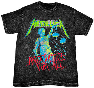Justice Novelty T-Shirts Metallica For All Graphic Tee