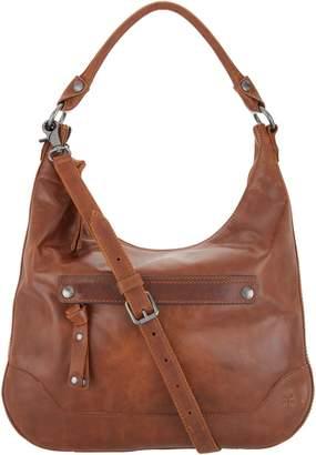 Frye Leather Melissa Zip Hobo Handbag