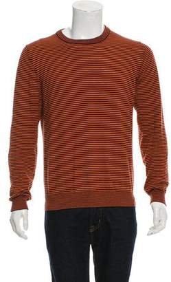 Maison Margiela Striped Crew Neck Sweater