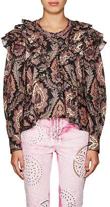 Isabel Marant WOMEN'S XUSTER PAISLEY COTTON BLOUSE