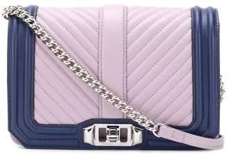 Rebecca Minkoff small Love crossbody color block bag