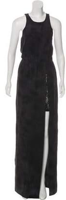 Gryphon Silk Maxi Dress