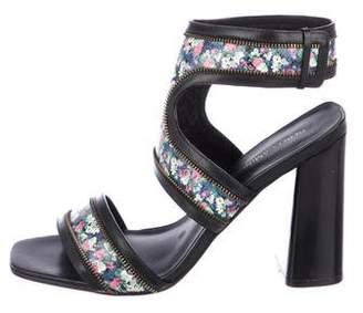 Rebecca Minkoff Leather Cuff Sandals