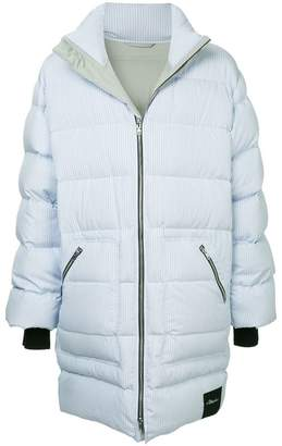 3.1 Phillip Lim striped padded coat