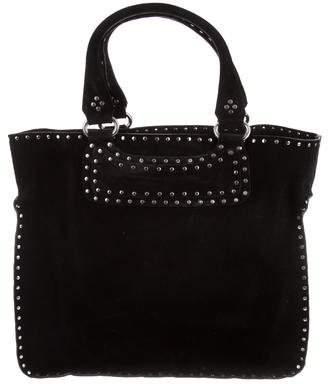 06ce15d2f54a Celine Studded Suede Boogie Bag