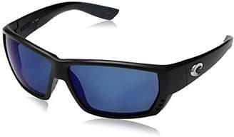 Costa del Mar Tuna Alley Polarized Iridium Wrap Sunglasses