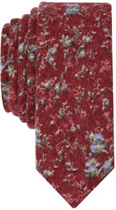 Original Penguin Men's Ward Floral Skinny Tie