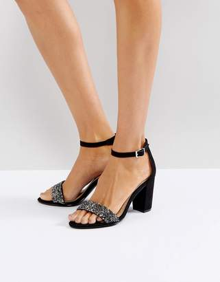 Miss KG Barely There Block Heeled Sandal