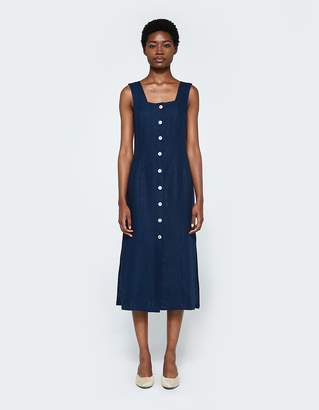Paloma Wool Flipo Linen Button Front Dress