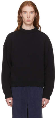Our Legacy Black Sonar Roundneck Sweater