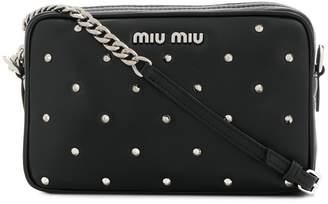 Miu Miu studded camera bag