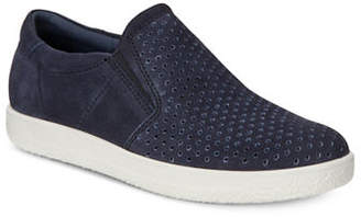 Ecco Soft 1 Leather Slip-On Sneaker