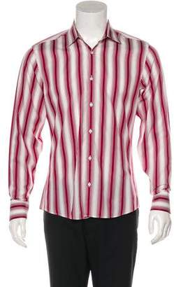 Gucci Striped Button-Up Shirt