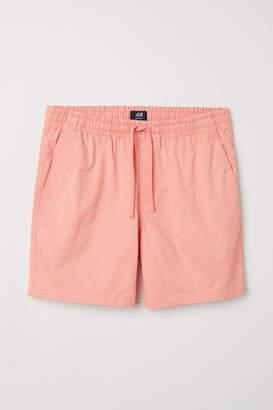 H&M Cotton Shorts - Orange