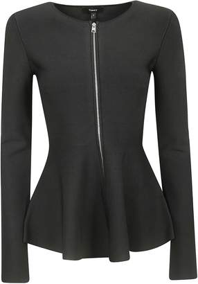 Theory Zip Up Peplum Jacket