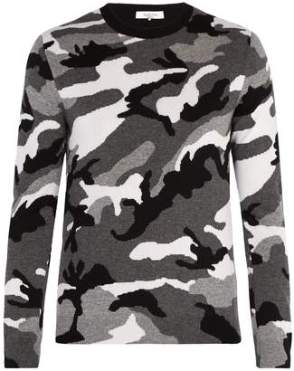 Valentino Camouflage wool sweater