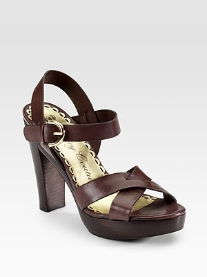 Juicy Couture Fiona Ankle-Strap Sandals
