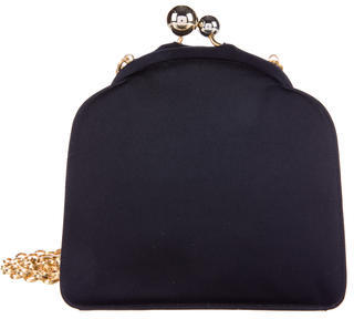 Judith Leiber Satin Kiss-Lock Evening Bag $175 thestylecure.com
