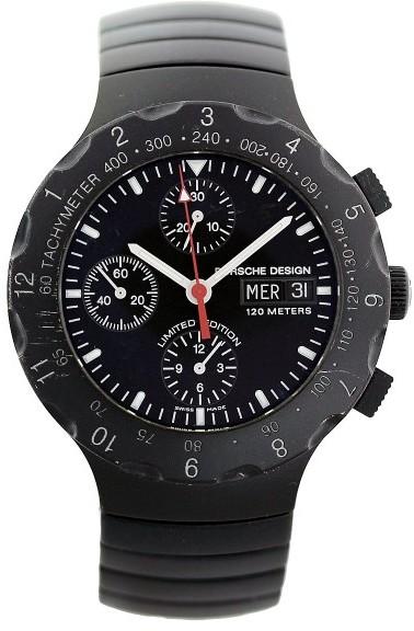 Porsche Design PD.6500.12.B Titan Chronograph PVD Mens Watch