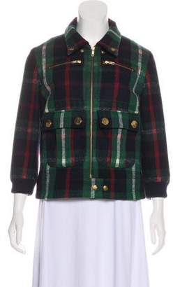 Ralph Lauren Moffat Plaid Zip-Up Jacket