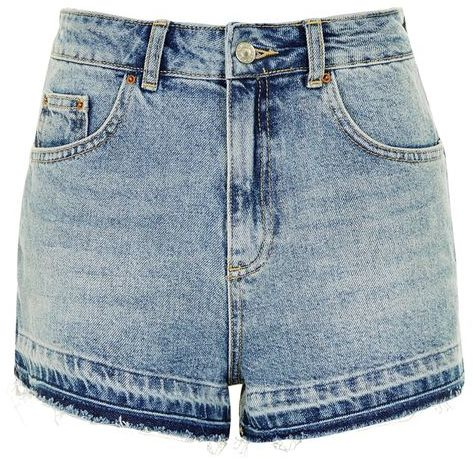 Topshop Topshop Moto let hem mom shorts