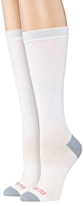 Copper Fit 2 Pair Knee High Socks - Womens