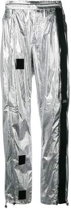 Oakley By Samuel Ross metallic track trousers