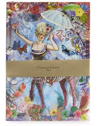 Christian Lacroix Papier Zebra Girl B5 Journal