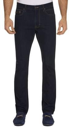 Robert Graham Salter Straight Fit Indigo Jeans