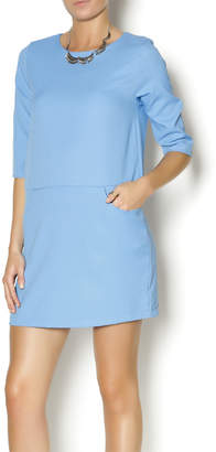 Everly Blue Shirt Dress
