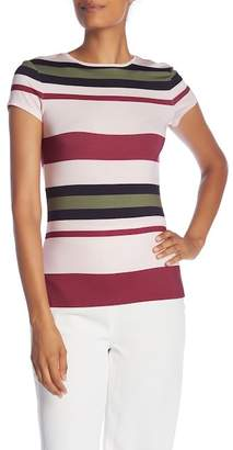 Ted Baker Imperial Stripe Fitted Tee