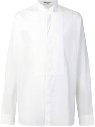 Saint Laurent high neck shirt