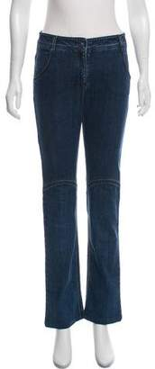 Chanel Mid-Rise Straight-Leg Jeans