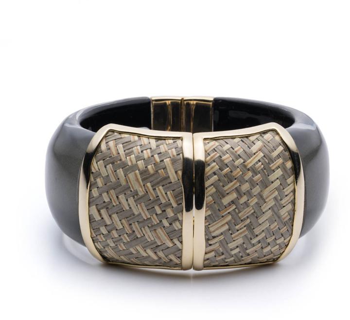 Alexis BittarRaffia Hinge Bracelet